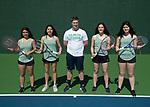4-15-19, Huron High School girl's tennis teams