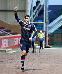 Brian Graham celebrates after scoring for Ross County