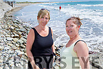 Ellen and Betty Healy from Ballyheigue enjoying the afternoon on Ballyheigue beach on Tuesday.