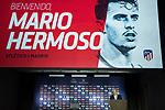Atletico de Madrid's president Enrique Cerezo during official presentation of Kieran Trippier and Mario Hermoso.  July 18, 2019. (ALTERPHOTOS/Francis Gonzalez)