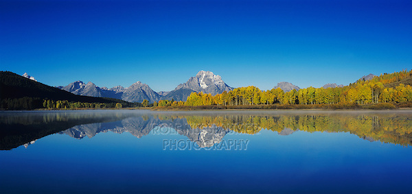 Oxbow Bend at sunrise, Grand Teton NP,Wyoming, USA