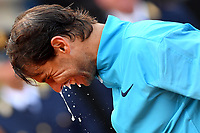 Rafael Nadal of Spain celebrates with spumante at the end of the final match played against Novak Djokovic of Serbia. Rafael Nadal won 6-0, 4-6, 6-1 <br /> Roma 19/05/2019 Foro Italico  <br /> Internazionali BNL D'Italia Italian Open <br /> Photo Andrea Staccioli / Insidefoto