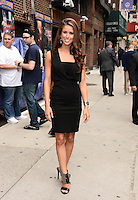 NEW YORK, NY - JUNE  11, 2014: Miss  USA Nia Sanchez  visits the Late Show With David Letterman on June 11, 2014   © HP/Starlitepics.
