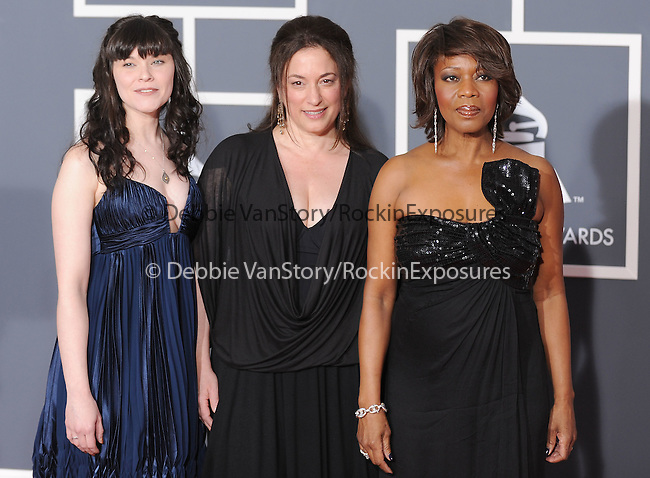 Alfre Woodard,Sharon Gelman & Michelle McGonnigle at The 52nd Annual GRAMMY Awards held at The Staples Center in Los Angeles, California on January 31,2010                                                                   Copyright 2009  DVS / RockinExposures