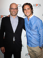 BEVERLY HILLS, CA, USA - MAY 06: Matt Bershadker, Diego Boneta at The American Society For The Prevention Of Cruelty To Animals Celebrity Cocktail Party on May 6, 2014 in Beverly Hills, California, United States. (Photo by Celebrity Monitor)