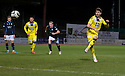 St Mirren's Kenny McLean scores their third goal from the penalty spot.
