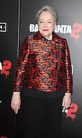 NEW YORK, NY November 15:Kathy Bates at Broad Green Picture & Miramax's presents New York premiere of BAD SANTA 2 at AMC Loews Lincoln Square in New York City.November 15, 2016. Credit:RW/MediaPunch
