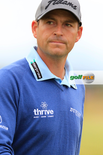 David HOWELL (ENG) walks to the 5th tee during Sunday's Round  of the 144th Open Championship, St Andrews Old Course, St Andrews, Fife, Scotland. 19/07/2015.<br /> Picture Eoin Clarke, www.golffile.ie