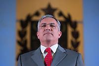 SAO PAULO, SP, 25.01.2014 - POSSE REITOR DA USP - Ministro da Saude, Alexandre Padilha durante posse do novo reitor da USP, Marco Antonio Zago no Auditório Ulysses Guimarães, no Palácio dos Bandeirantes na região sul da cidade de Sao Paulo, deste sábado, 25. Zago é professor titular da USP desde 1990. Dentre outros cargos, foi presidente do Conselho Nacional do Desenvolvimento Científico e Tecnológico (CNPq) entre 2007 e 2010. Desde 2010, era pró-reitor de Pesquisa da USP.(Foto: Vanessa Carvalho / Brazil Photo Press).