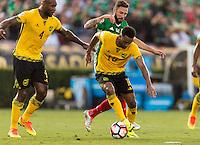 Pasadena, CA - Thursday June 09, 2016: Lee Williamson during a Copa America Centenario Group C match between Mexico (MEX) and Jamaica (JAM) at Rose Bowl Stadium.