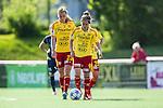 Tyres&ouml; 2014-05-25 Fotboll Damallsvenskan Tyres&ouml; FF - FC Roseng&aring;rd :  <br /> Tyres&ouml;s  Veronica Boquete och Linda Sembrant deppar<br /> (Foto: Kenta J&ouml;nsson) Nyckelord:  Damallsvenskan Tyres&ouml;vallen Tyres&ouml; TFF FC Roseng&aring;rd FCR Malm&ouml; depp besviken besvikelse sorg ledsen deppig nedst&auml;md uppgiven sad disappointment disappointed dejected