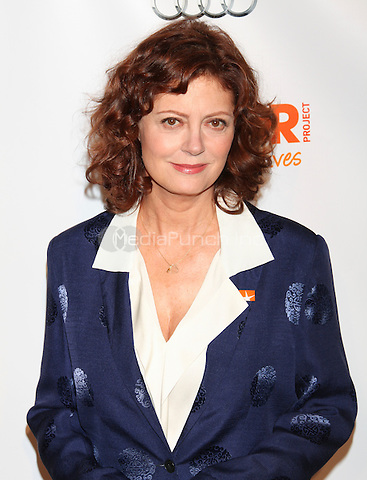 Susan Sarandon at TREVOR LIVE! An irreverent evening of music and comedy to benefit The Trevor Project, honoring Susan Sarandon and MTV in New York City. June 25, 2012. © Diego Corredor/MediaPunch Inc.