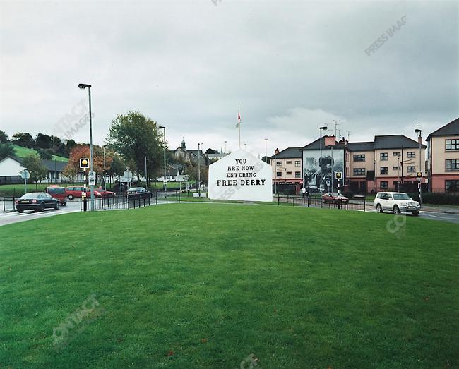 Bogside, Derry, Northern Ireland, October 2004