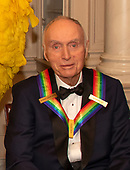 Sesame Street co-founder JDr. Lloyd Morrisett, one of the recipients of the 42nd Annual Kennedy Center Honors poses as part of a group photo following a dinner at the United States Department of State in Washington, D.C. on Saturday, December 7, 2019.  The 2019 honorees are: Earth, Wind & Fire, Sally Field, Linda Ronstadt, Sesame Street, and Michael Tilson Thomas.<br /> Credit: Ron Sachs / Pool via CNP