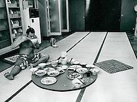 Somo-Ringer in Tokyo, Japan