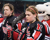 Annie Hogan (NU - 3) - The University of New Hampshire Wildcats defeated the Northeastern University Huskies 5-3 (EN) on Friday, January 8, 2010, at Fenway Park in Boston, Massachusetts as part of the Sun Life Frozen Fenway doubleheader.