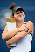2019 Rogers Cup Tennis Womens Final Canada Aug 11th