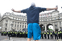 JUN 09 Tommy Robinson supporters arrested after London protest