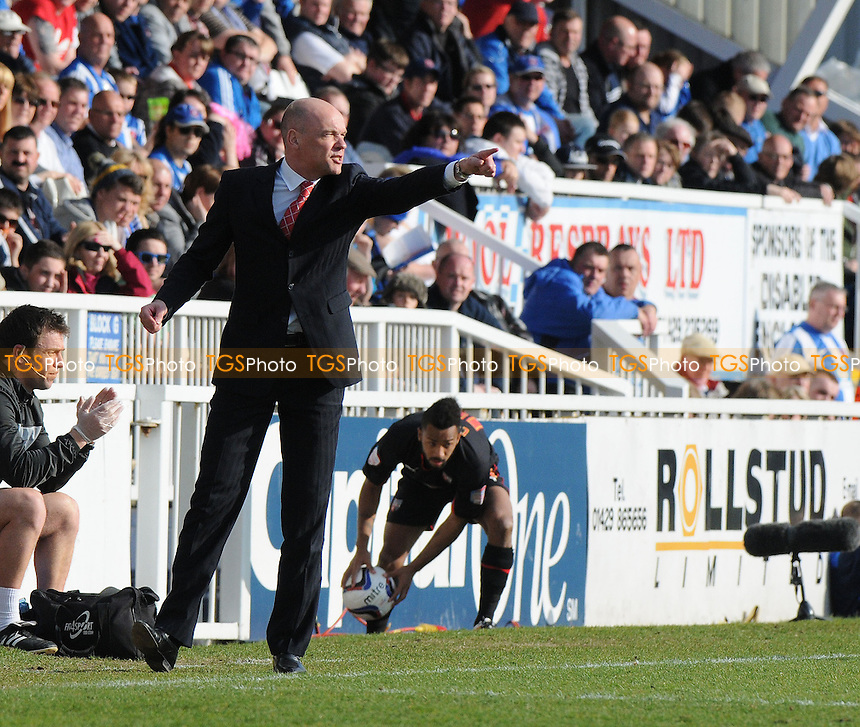 Brentford Manager Uwe Rösler - Hartlepool United vs Brentford - NPower League One Football at Victoria Park, Hartlepool - 20/04/13 - MANDATORY CREDIT: Steven White/TGSPHOTO - Self billing applies where appropriate - 0845 094 6026 - contact@tgsphoto.co.uk - NO UNPAID USE
