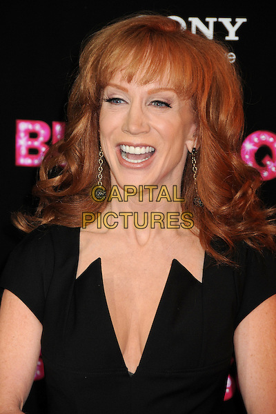 "KATHY GRIFFIN.""Burlesque"" Los Angeles Premiere held at Grauman's Chinese Theatre, Hollywood, California, USA, .15th November 2010..portrait headshot black smiling cleavage plunging neckline mouth open funny .CAP/ADM/BP.©Byron Purvis/AdMedia/Capital Pictures."