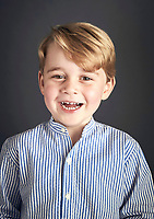 Prince George 4th Birthday Offical Portrait