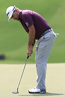 Graeme McDowell (NIR) putts on the 13th green during Thursday's Round 1 of the 2017 PGA Championship held at Quail Hollow Golf Club, Charlotte, North Carolina, USA. 10th August 2017.<br /> Picture: Eoin Clarke | Golffile<br /> <br /> <br /> All photos usage must carry mandatory copyright credit (&copy; Golffile | Eoin Clarke)