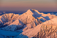 Mount mather, Alaska Range mountains, Denali National Park, Interior, Alaska.