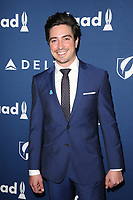 BEVERLY HILLS, CA - APRIL 12: Ben Feldman, At the 29th Annual GLAAD Media Awards at The Beverly Hilton Hotel on April 12, 2018 in Beverly Hills, California. <br /> CAP/MPI/FS<br /> &copy;FS/MPI/Capital Pictures