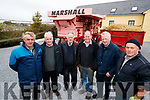 Denis Tangney, Dan McMahon, Michael McKenna, Arthur Flynn, Eddie Dunlea and Paddy O'Donnell pictured at the Blennerville Treshing Festival on Sunday.