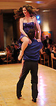 Phoebe Tudor and her partner Phillip Broomhead compete at the Dancing with the Houston Stars event benefitting the Houston Ballet at the home of John and Becca Thrash  Friday Sept. 24, 2010. (Dave Rossman/For the Chronicle)