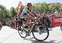Marcos Garcia during the stage of La Vuelta 2012 between Logroño and Logroño.August 22,2012. (ALTERPHOTOS/Acero) /NortePhoto.com<br /> <br /> **SOLO*VENTA*EN*MEXICO**<br /> **CREDITO*OBLIGATORIO**<br /> *No*Venta*A*Terceros*<br /> *No*Sale*So*third*<br /> *** No Se Permite Hacer Archivo**<br /> *No*Sale*So*third*