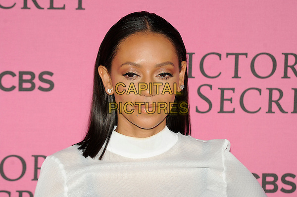 LONDON, ENGLAND - DECEMBER 2: Melanie Brown attend the pink carpet for Victoria's Secret Fashion Show 2014, Earls Court on December 2, 2014 in London, England.<br /> CAP/MAR<br /> &copy; Martin Harris/Capital Pictures