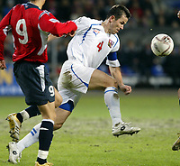 Fotball , 12. november 2005 , Play off , Norge - Tsjekkia 0-1<br /> Norway -  Czech Republic 0-1<br /> Tomas Galasek , Tsjekkia<br /> Norvegia Repubblica Ceca 0-1<br /> Andata Playoff qualificazioni mondiali 2006<br /> Photo Digitalsport / Insidefoto<br /> ITALY ONLY