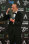 Javier Gutierrez attend the 2015 Goya Award Winners Photocall at Auditorium Hotel, Madrid,  Spain. February 08, 2015.(ALTERPHOTOS/)Carlos Dafonte)