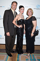 Lazaro Elias, Elizabeth Elias, and Mary Elias attend The Boys and Girls Club of Miami Wild About Kids 2012 Gala at The Four Seasons, Miami, FL on October 20, 2012