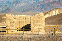 Remants of the Harmony Borax Works in Death Valley California.