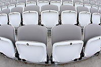 General view of the empty seats ahead of Middlesex CCC vs Essex CCC, Specsavers County Championship Division 1 Cricket at Lord's Cricket Ground on 21st April 2017
