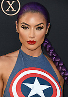 "04 June 2019 - Hollywood, California - Eva Marie. ""Dark Phoenix"" Los Angeles Premiere held at TCL Chinese Theatre. <br /> CAP/ADM/BT<br /> ©BT/ADM/Capital Pictures"