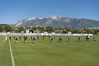 Salt Lake City, UT - June 2, 2018: The USWNT trains in advance of their international friendly against China.