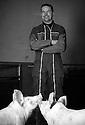 10/01/17 - VITRAC - CANTAL - FRANCE - Portrait de Herve PUECH - Photo Jerome CHABANNE