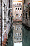 A canal in Venice Italy