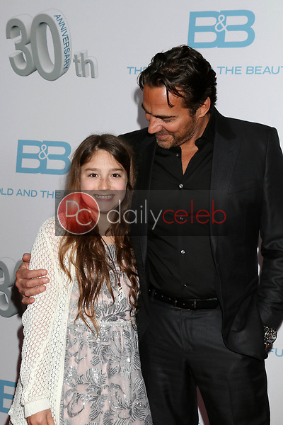 """Marlowe Marann Kaye, Thorsten Kaye<br /> at the """"The Bold and The Beautiful"""" 30th Anniversary Party, Clifton's Downtown, Los Angeles, CA 03-18-17<br /> David Edwards/DailyCeleb.com 818-249-4998"""