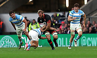 England's Chris Robshaw in action during todays match<br /> <br /> Photographer Rachel Holborn/CameraSport<br /> <br /> International Rugby Union Friendly - Old Mutual Wealth Series Autumn Internationals 2017 - England v Argentina - Saturday 11th November 2017 - Twickenham Stadium - London<br /> <br /> World Copyright &copy; 2017 CameraSport. All rights reserved. 43 Linden Ave. Countesthorpe. Leicester. England. LE8 5PG - Tel: +44 (0) 116 277 4147 - admin@camerasport.com - www.camerasport.com