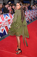 Alesha Dixon<br /> arrives for the Britain's Got Talent 2018 auditions, Palladium Theatre, London<br /> <br /> <br /> ©Ash Knotek  D3373  28/01/2018