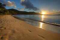Sunset from Francis Bay, Virgin Islands Nat'l Park, St. John, USVI
