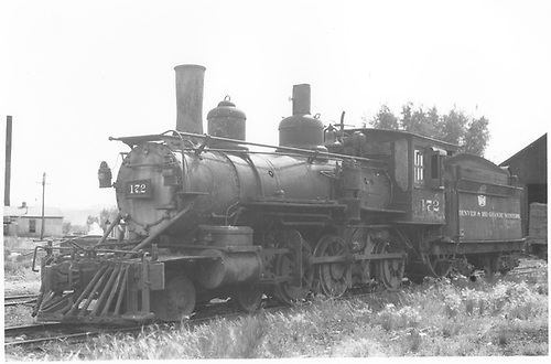 Engine #172 in yard.<br /> D&amp;RGW