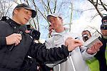 Motorsport: DTM Vorstellung  2008 Duesseldorf<br /> <br /> Ralf Schumacher und Oliver Pocher gaben auf der Koe Autogramme an die Fans bei der DTM Vorstellung in Duesseldorf.<br /> <br /> <br /> Foto © nph (nordphoto)