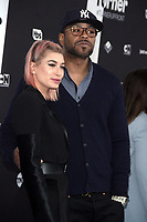 NEW YORK, NY - May 16 : Hailey Baldwin and Method Man at Turner Upfront 2018 at Madison Square Garden in New York. May 16, 2018 Credit:/RW/MediaPunch