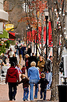 Snow and sleet couldn't keep away the hundreds of spectators and participants in the Annual North Mecklenburg Christmas Parade held in the town of Davidson, NC. The annual parade includes marching bands, floats, tractors, fire trucks, Scouts, antique cars, clowns, pets and, of course, Santa Claus.