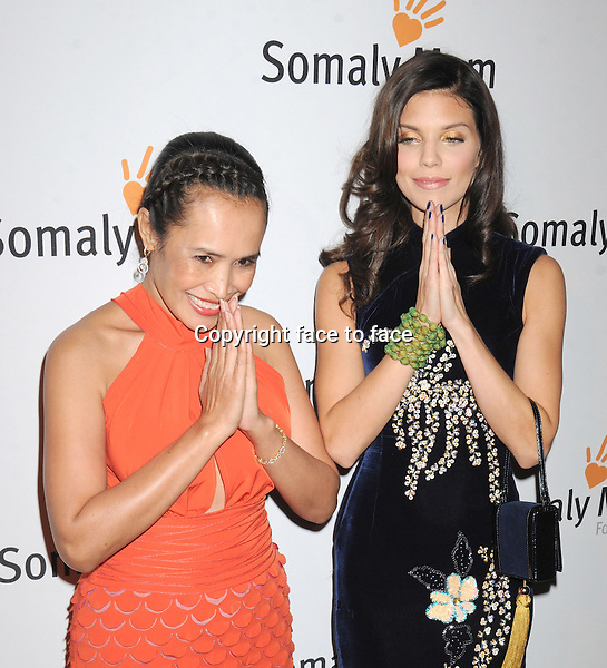 NEW YORK, NY - OCTOBER 23: Somaly Mam, AnnaLynne McCord at Somaly Mam Foundation's &quot;Life Is Love&quot; Gala to celebrate hope, action and change in the fight to end slavery at Gotham Hall in New York. October 23, 2013. <br /> Credit: MediaPunch/face to face<br /> - Germany, Austria, Switzerland, Eastern Europe, Australia, UK, USA, Taiwan, Singapore, China, Malaysia, Thailand, Sweden, Estonia, Latvia and Lithuania rights only -